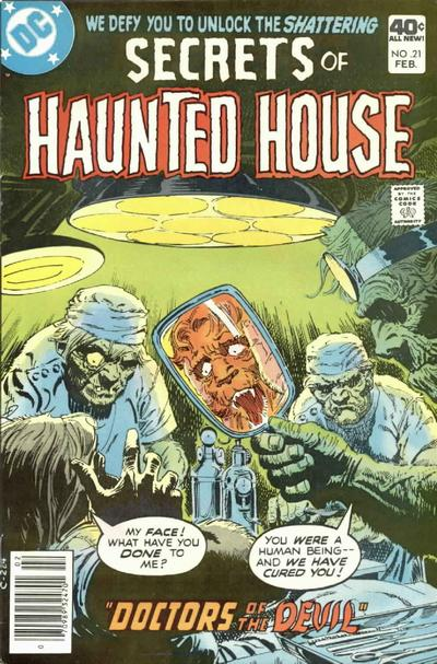 Cover for Secrets of Haunted House (DC, 1975 series) #21
