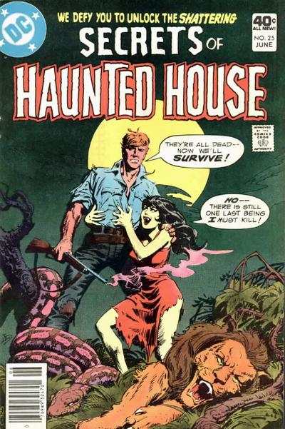 Cover for Secrets of Haunted House (DC, 1975 series) #25