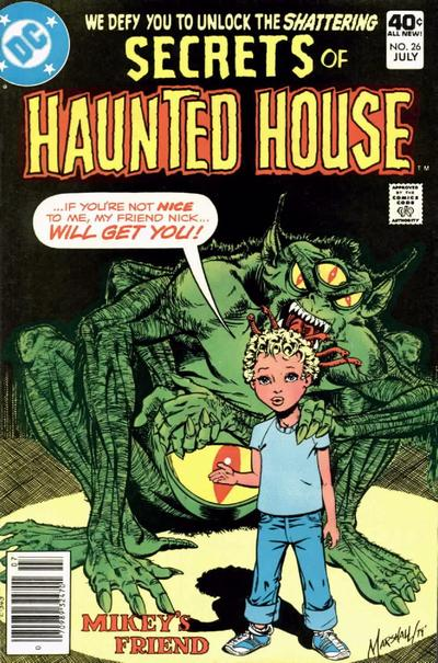 Cover for Secrets of Haunted House (DC, 1975 series) #26
