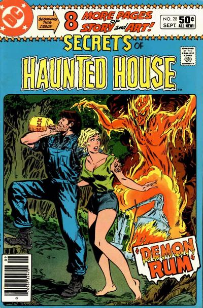 Cover for Secrets of Haunted House (DC, 1975 series) #28