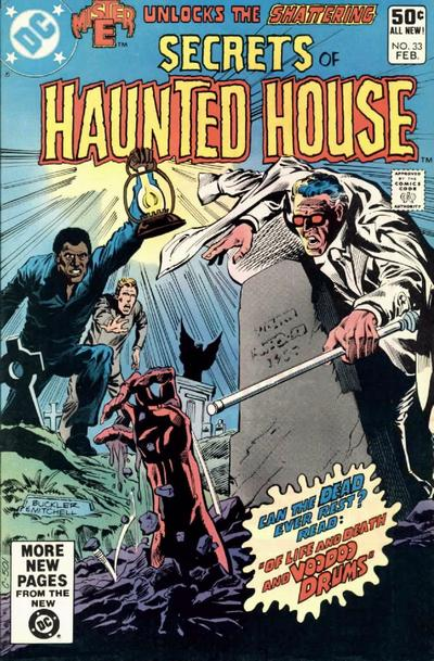Cover for Secrets of Haunted House (DC, 1975 series) #33 [Direct]