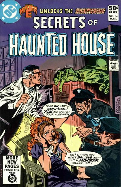 Cover for Secrets of Haunted House (DC, 1975 series) #34 [Direct Sales]
