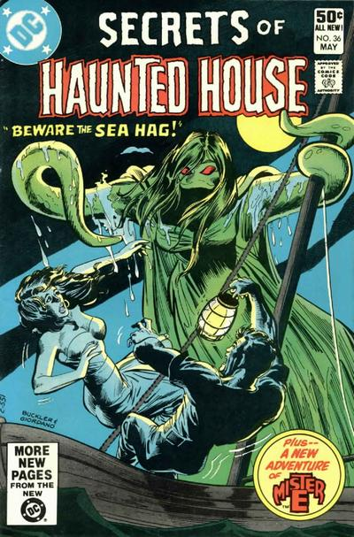 Cover for Secrets of Haunted House (DC, 1975 series) #36 [Newsstand]