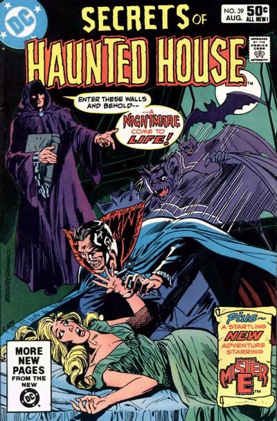 Cover for Secrets of Haunted House (DC, 1975 series) #39 [Direct Sales]