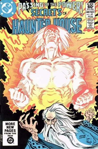 Cover for Secrets of Haunted House (DC, 1975 series) #45 [Direct Sales]