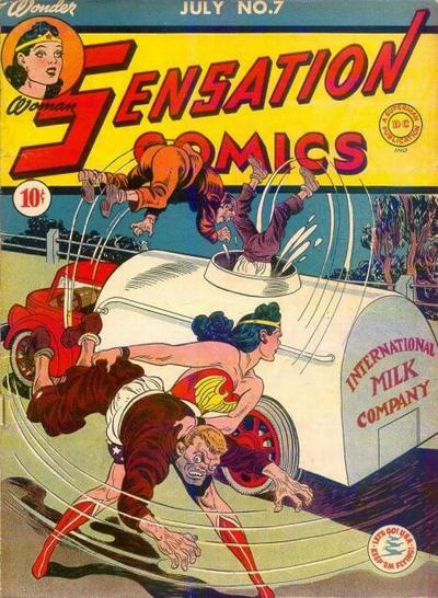 Cover for Sensation Comics (DC, 1942 series) #7