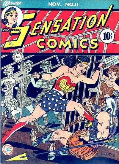 Cover for Sensation Comics (DC, 1942 series) #11