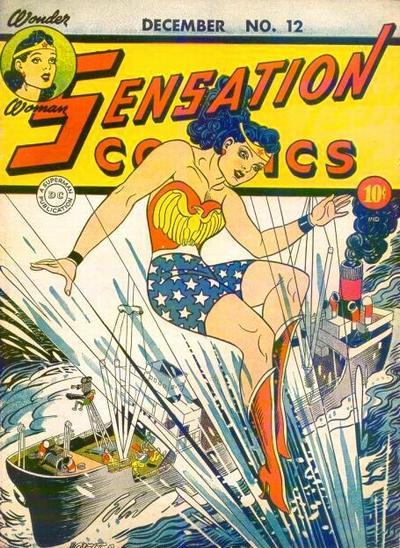 Cover for Sensation Comics (DC, 1942 series) #12