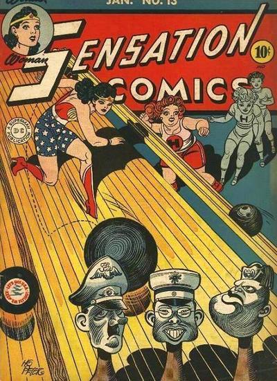 Cover for Sensation Comics (DC, 1942 series) #13