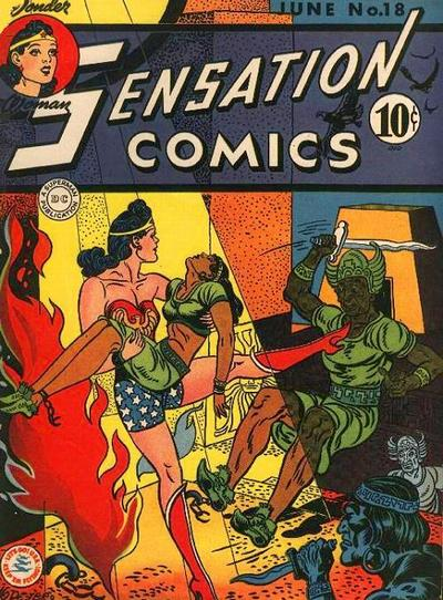 Cover for Sensation Comics (DC, 1942 series) #18