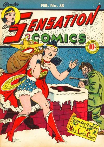 Cover for Sensation Comics (DC, 1942 series) #38