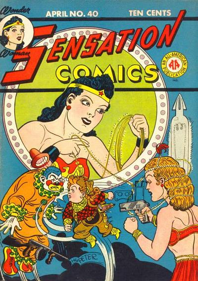 Cover for Sensation Comics (DC, 1942 series) #40