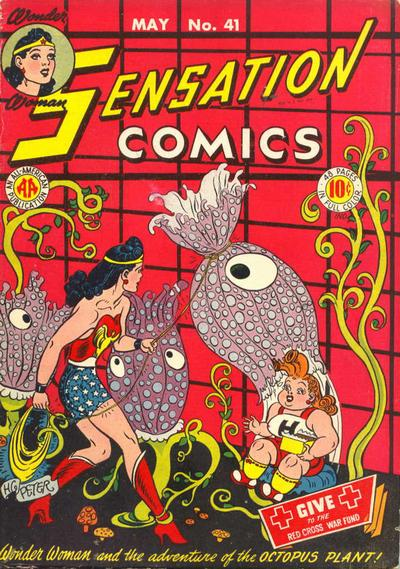 Cover for Sensation Comics (DC, 1942 series) #41