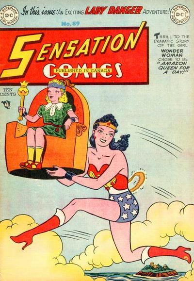 Cover for Sensation Comics (DC, 1942 series) #89