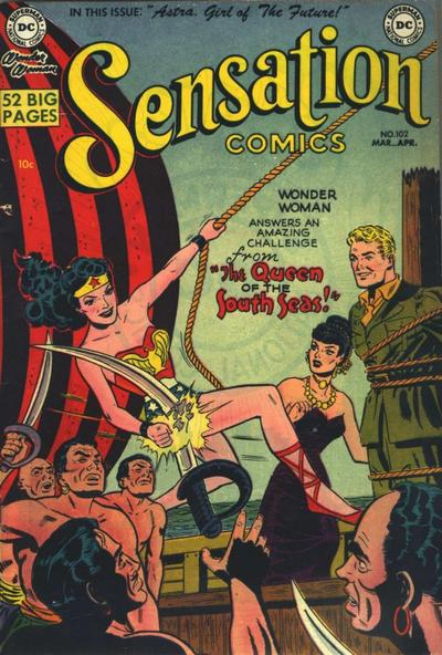 Cover for Sensation Comics (DC, 1942 series) #102