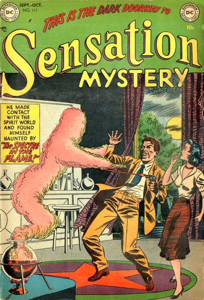 Cover for Sensation Mystery (DC, 1952 series) #111