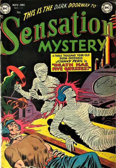 Cover for Sensation Mystery (DC, 1952 series) #112