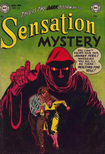Cover for Sensation Mystery (DC, 1952 series) #113