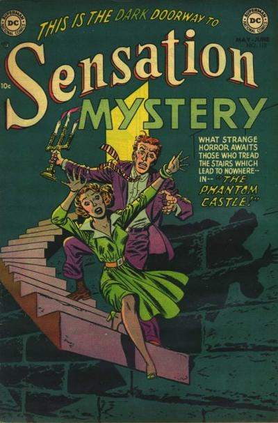 Cover for Sensation Mystery (DC, 1952 series) #115