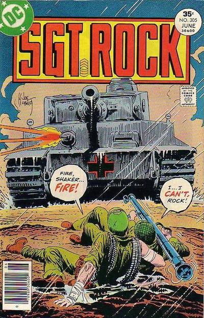 Cover for Sgt. Rock (DC, 1977 series) #305