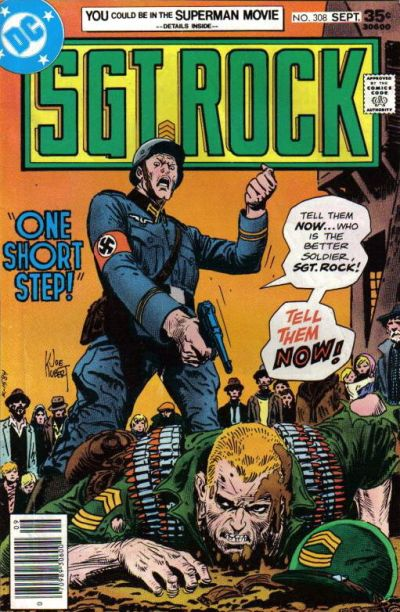 Cover for Sgt. Rock (DC, 1977 series) #308