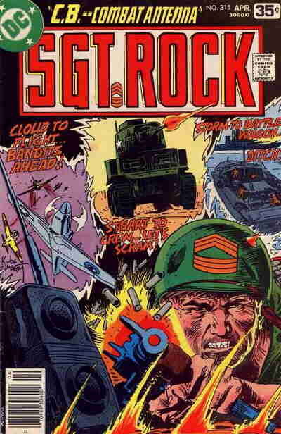 Cover for Sgt. Rock (DC, 1977 series) #315