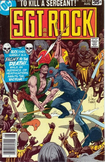Cover for Sgt. Rock (DC, 1977 series) #319