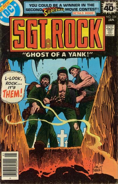 Cover for Sgt. Rock (DC, 1977 series) #324