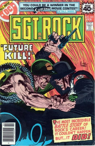 Cover for Sgt. Rock (DC, 1977 series) #325