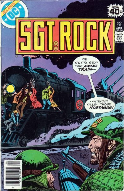 Cover for Sgt. Rock (DC, 1977 series) #327