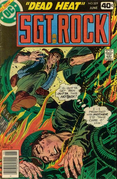 Cover for Sgt. Rock (DC, 1977 series) #329