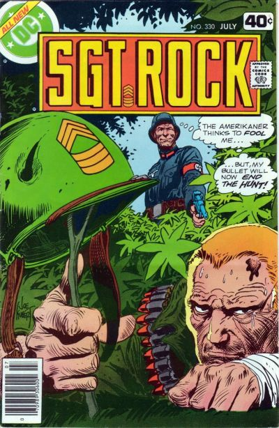 Cover for Sgt. Rock (DC, 1977 series) #330