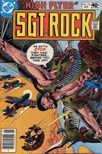 Cover for Sgt. Rock (DC, 1977 series) #336