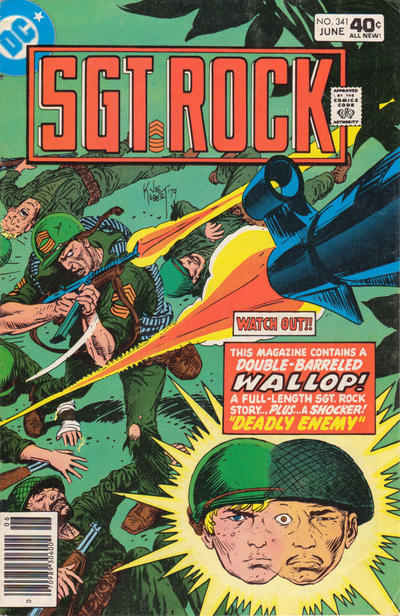 Cover for Sgt. Rock (DC, 1977 series) #341
