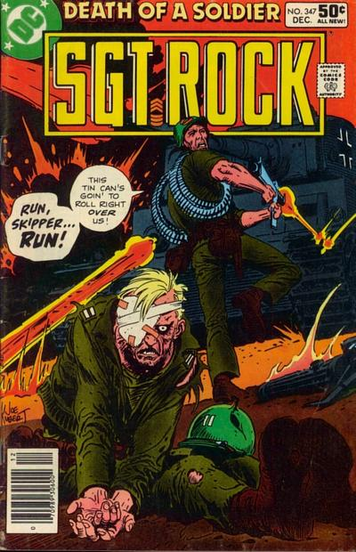 Cover for Sgt. Rock (DC, 1977 series) #347