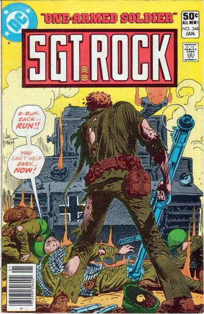 Cover for Sgt. Rock (DC, 1977 series) #348 [Direct Sales]
