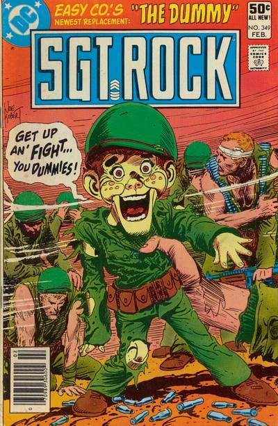 Cover for Sgt. Rock (DC, 1977 series) #349 [Direct Sales]