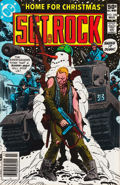 Cover for Sgt. Rock (DC, 1977 series) #350