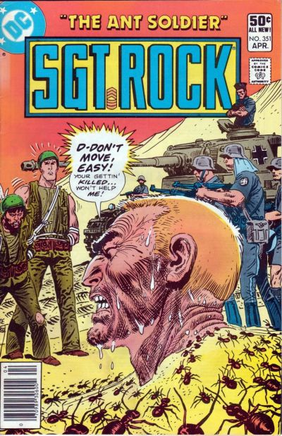 Cover for Sgt. Rock (DC, 1977 series) #351 [Direct Sales]