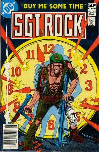 Cover for Sgt. Rock (DC, 1977 series) #352 [Newsstand]