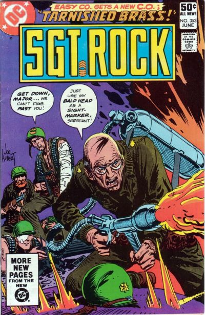 Cover for Sgt. Rock (DC, 1977 series) #353 [Direct]