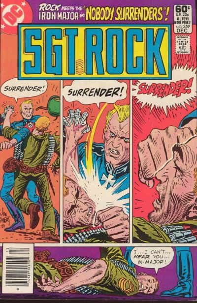 Cover for Sgt. Rock (DC, 1977 series) #359 [Newsstand]