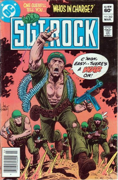 Cover for Sgt. Rock (DC, 1977 series) #362 [Newsstand]
