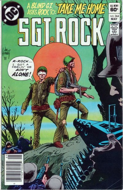 Cover for Sgt. Rock (DC, 1977 series) #364 [Newsstand]