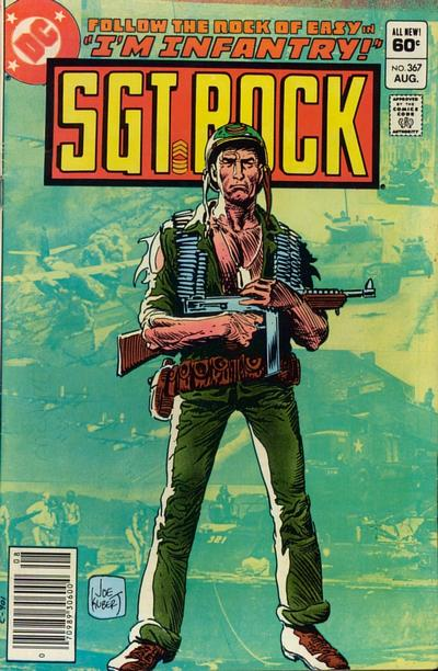 Cover for Sgt. Rock (DC, 1977 series) #367 [Direct]
