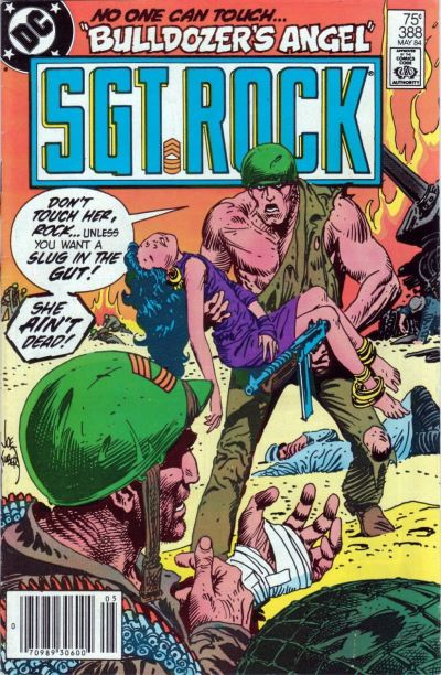 Cover for Sgt. Rock (DC, 1977 series) #388 [Direct]