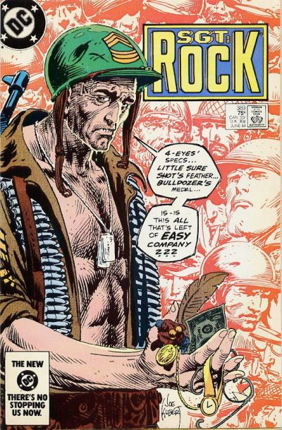 Cover for Sgt. Rock (DC, 1977 series) #389 [Direct]