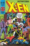 Cover for X:en (Semic, 1984 series) #5/1985
