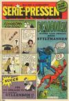 Cover for Serie-pressen (Saxon & Lindström, 1971 series) #4/1971