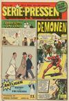 Cover for Serie-pressen (Saxon & Lindström, 1971 series) #2/1972